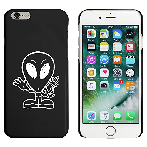 Noir 'Extraterrestre' étui / housse pour iPhone 6 & 6s (MC00042105)