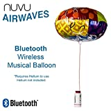NUVU AIRWAVES Bluetooth Musical Happy Birthday Party Balloon - All Music & PA System From A Gigantic Air Balloon