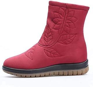Scarponi Snow Donna Antiscivolo Impermeabile Caldo Alto Top Scarpe di Cotone Incinte Donne Stivali Madre Scarpe EU Size 35-43