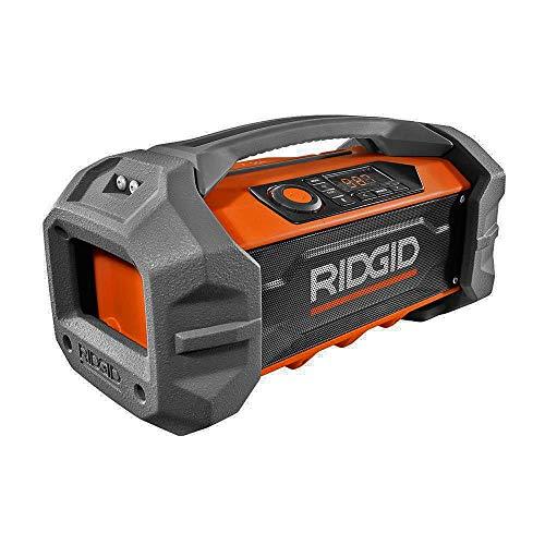 Ridgid R84087 GEN5X 18-Volt Jobsite Radio with Bluetooth Wir