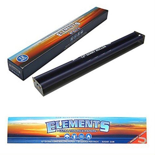 Elements Rolling Machine Sunset Ocean Pack Of 12 12''