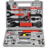 Must Have! Professional 44 piece Maintenance Tool Kit Set / Bicycle Bike Bicycling Biking Recreation Exercise Sport Cyclists Biker Parts Clothing Mountain Mtb Components Road Supplies Cycle Outfit Men Women Unisex Clothes Apparel Outdoor Trailer Pump Trainer Bell Cover Stand Cage Rack Pannier Holder Seat Frame Basket Bag Water Mount Wheel Stuff Supplies Birthday Gift Item Shop Store Buy Gear Friend Mom Dad Brother Sister The Best High Quality Unique Special by Unknown