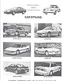 1991 Mustang Mazda RX7 CRX BMW Styling Kit Car Brochure