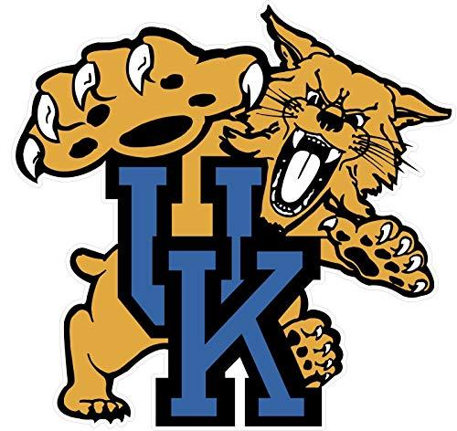 University of Kentucky Wildcats Car Sticker   4 Sizes Window Vinyl Truck Emblem   Kentucky Wildcats Window Decal (6