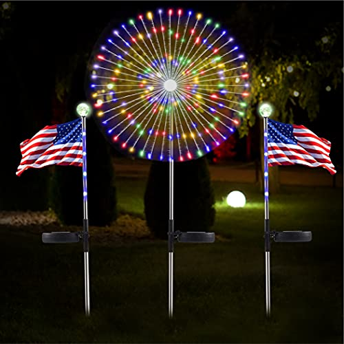 American flag solo lights