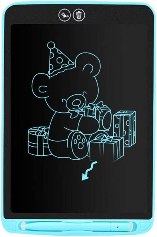 HANXIAODONG Electronic Doodle Pads Drawing Board 8.5 Inches Electronic Graphics Drawing Pads LCD Drawing Board EWriter Digital Handwriting Doodle Color : Blue, Size : 8.5 inches