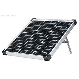 AriXsun Energy 40 Watt Monocrystalline Portable Solar Panel with Zamp Solar Charge Controller (12V Battery Tender Charger)