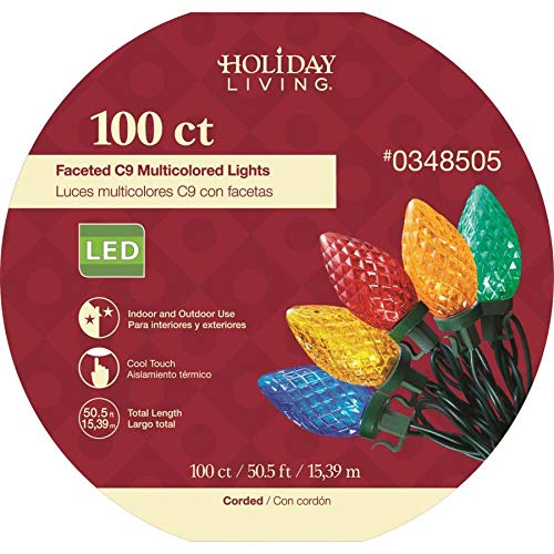 100 Count C9 Led Lights in US - 8