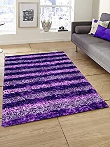 Story at Home Accent Collection Carpet, Purple, 91 x 152 cm, AC1404