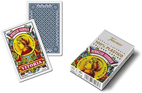 Outletdelocio. Baraja española Fournier. Calidad casino. 50 cartas ...