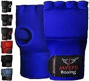 Jayefo Padded Speed Wraps Inner Gloves Training Gel Elastic Hand Wraps for Boxing Gloves Men Women Quick Wraps