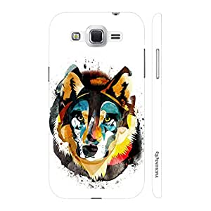 Enthopia Designer Hardshell Case Win for the Wolf Back Cover for Samsung Galaxy J2 (2016)