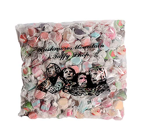 (Rushmore Mountain Taffy Hand Made Kettle Fresh Salt Water Taffy (RushmoreTaffy-3lb-Assorted, 3 lb))