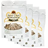 Seeded Crackers Value Pack: Low Carb, Gluten Free, Vegan, Kosher, Keto Freindly Crackers 4 Oz Bag (Pack of 4)