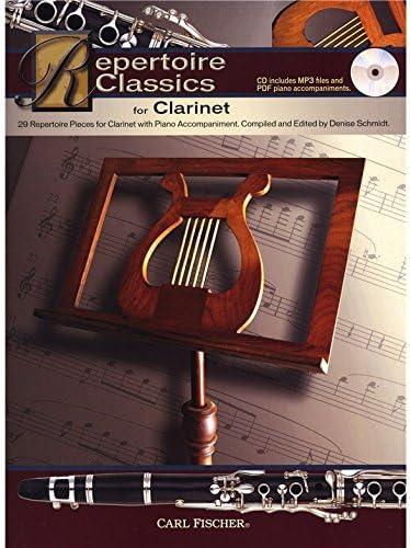 Repertoire Classics – Clarinet. Partituras, CD para Clarinete ...