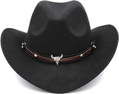 ZLQ Women Men Straw Western Cowboy Hat Summer Handmade Weave Lady Sombrero Hombre Cowgirl Caps Bohemian Cowboy Hat