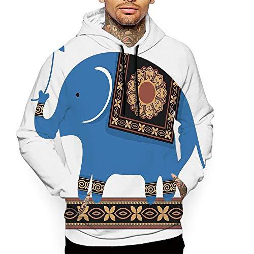 Athletic Sportswear Men's Hooded Sweatshirt Kangaroo Pocket