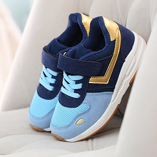 Gemvie Running Azul Deportivos Sneakers Zapatos Unisexo Premavera 7IprTWq76w