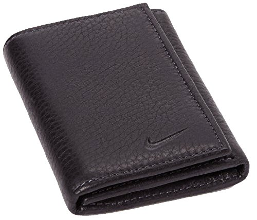 Nike Mens Pebble Leather Trifold (Brown)