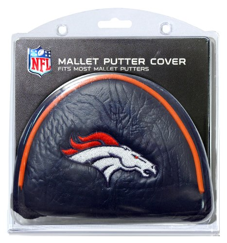 NFL Denver Broncos Mallet Putter Cover, Outdoor Stuffs