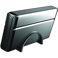 SEDNA - USB 2.0 / eSATA 3.5 SATA II HDD case with free 2 Port eSATA Floppy Bay Front Panel