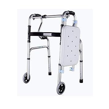 WTTFF* Andador Mayor, Andador de Aluminio, Plegable ...