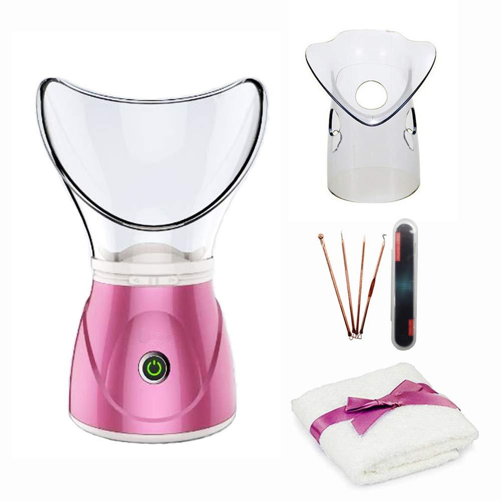 Facial Steamer – Hann Professional Sinus Steam Inhaler for Home Facial Warm