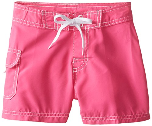 ls' Sassy Boardshorts, Neon Pink, Medium (5) ()