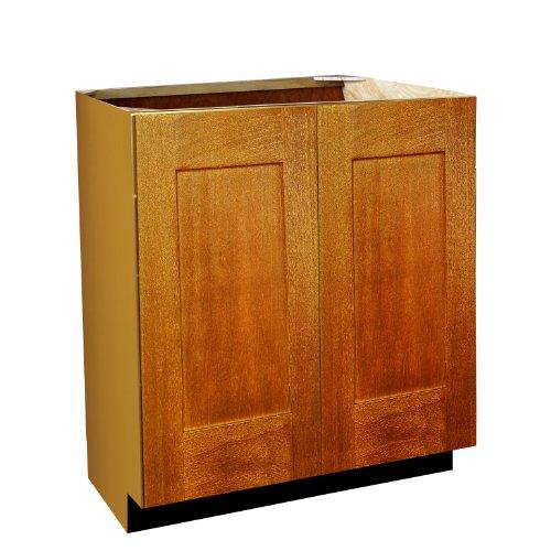 Shaker Panel Door Style Vanity Sink Base with Full Height Doors 24