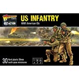 Bolt Action Warlord Games, miniatures - US Infantry - WWII American Gis