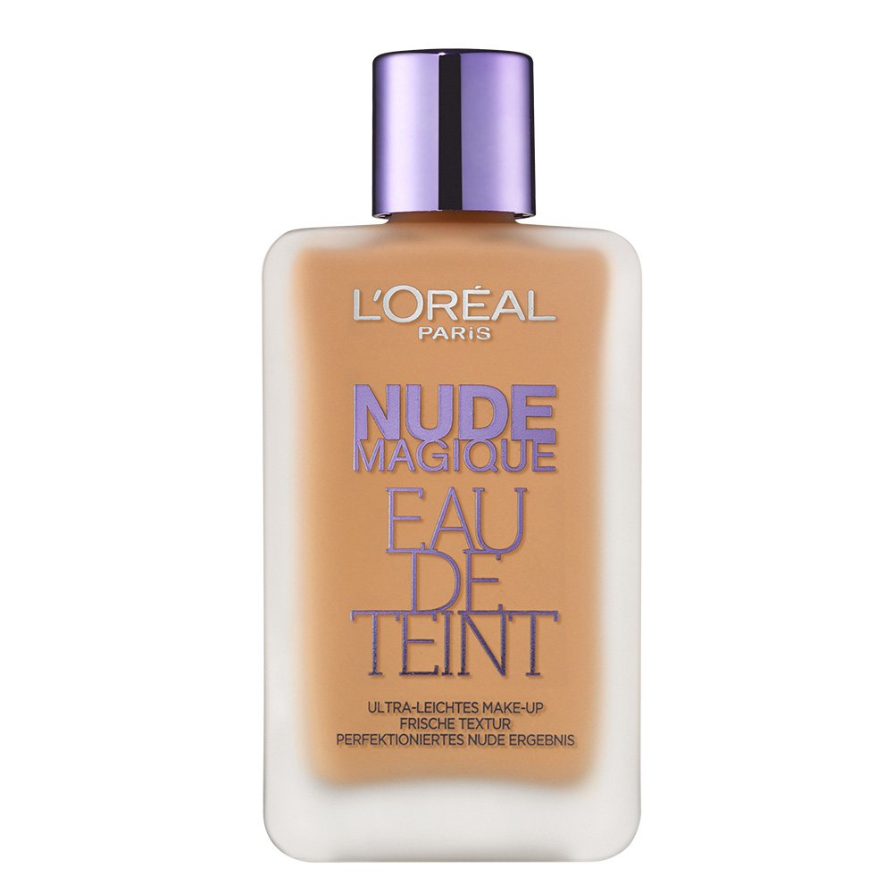 L'Oréal Paris Nude Magique Eau de Teint, 220, Golden Sand, 1er Pack (1 x 20 ml) L' Oréal Paris A7388400
