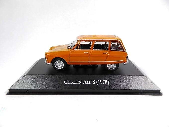 Citroen AMI 8 orange 1978 Blister 1:43 Salvat Ixo Modellauto