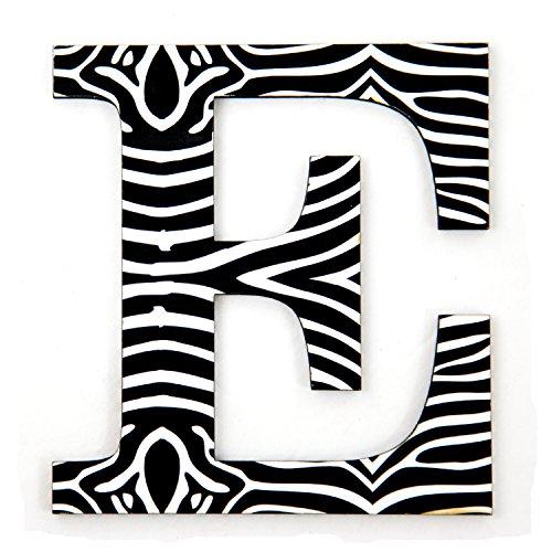 11-tall-zebra-designer-wall-letter-beautiful-zebra-pattern-3d-wall-decor-perfect-unique-wall-initial