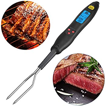 Amazon.com: Maverick redifork Pro LCD Rapid de leer barbacoa ...