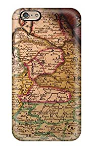 NWcuVNY393KCNyA SarahTownsend Vintage Map Durable Iphone 6 Tpu Flexible Soft Case