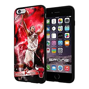 New Fashion Case Derrick Rose MVP #1058 Basketball iphone 5s I+ case cover protective Scratch Proof Vpw1fbKoFRD Soft case cover Protector