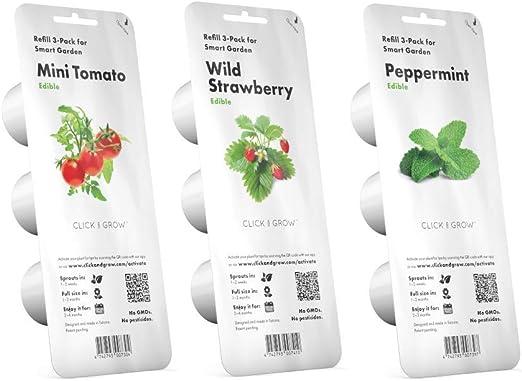 Click & Grow Kitchen Starter Pack - Juego de 3 paquetes de ...