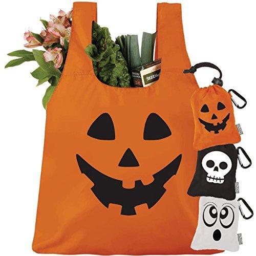ChicoBag, Bag Original Halloween Orange Peel Jack O