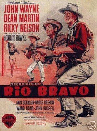 Hot Stuff Enterprise 4581-12x18-LM Rio Bravo John Wayne Poster, 12 x 18 in.