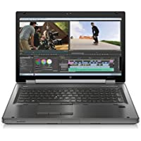 HP EliteBook 17.3 Mobile Workstation 8770w Business Laptop Computer, Intel Quad-Core i7-3630QM up to 3.4GHz, 8GB RAM, 500GB HDD, NVIDIA Quadro K3000M , Windows 7 Professional (Certified Refurbished)