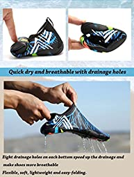 Quick-Dry Barefoot Water Shoes Multifunctional Skin Aqua Socks With 16 Drainage Holes Men Women