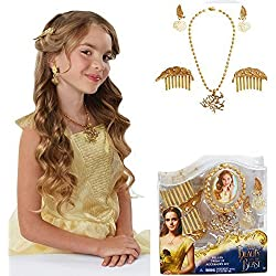 Disney Beauty and the Beast - BELLE'S DRESS UP ACCESSORY SET - Complete Your Look with Belle's Movie Inspired Accessories