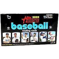 $87 » 2020 Topps Heritage MLB Baseball HOBBY box (24 pks/bx)