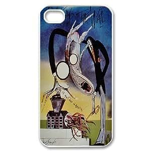 Bloomingbluerose Pink Floyd IPhone 4/4s Case Pink Floyd Vintage, [White]