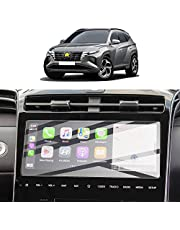 SKTU H*yundai Tucson NX4 2020 2021 Navigatiebeschermingsfolie 10 inch screenprotector van gehard glas krasbestendig anti-vingerafdruk 9H hardheid anti-strooiing