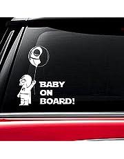 Baby On Board dark vador Star Wars fenêtre Autocollant de voiture camion Vinyle autocollant Décor (lot de 2)