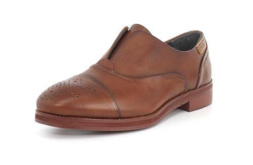 Pikolinos W5m-3601 - Mocasines de Piel Lisa para Mujer, Color marrón, Talla 41: Amazon.es: Zapatos y complementos