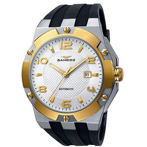 Reloj Sandoz Caractere 81305-50 Hombre Blanco