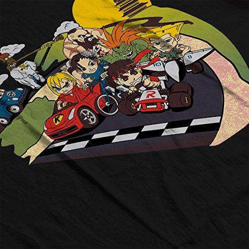 Super Fighting Kart Street Fighter Mario Men's Vest
