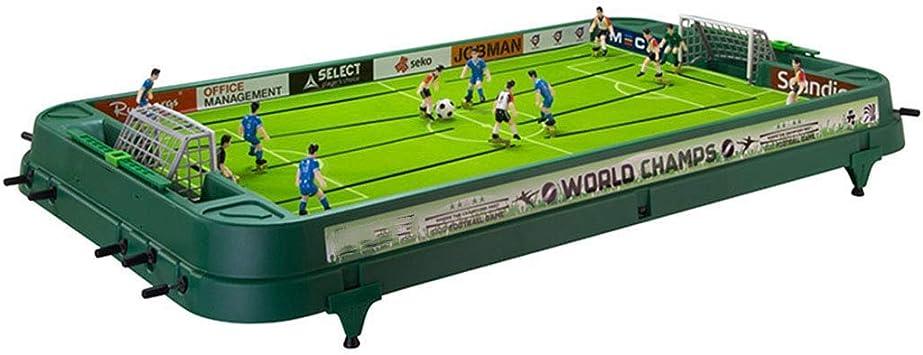 JKLL Mesa Profesional de futbolín: diseño de fútbol clásico, fácil de ...